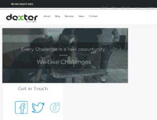 dextertalentlabs.com screenshot