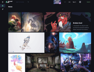 dezignation.daportfolio.com screenshot