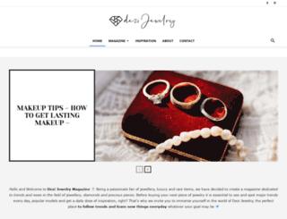 dezijewelry.com screenshot