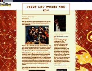 dezzylouwhereareyou.blogspot.com screenshot