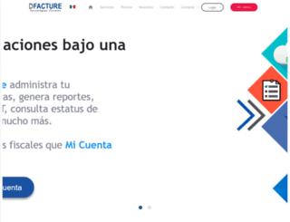 dfacture.com screenshot