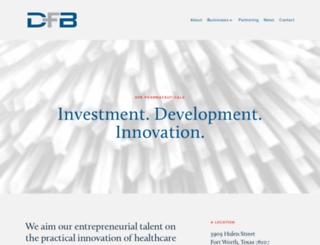dfb.com screenshot