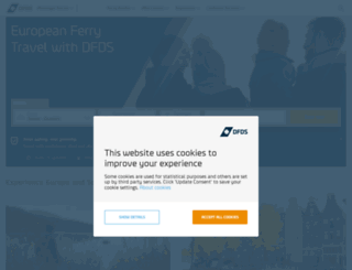 dfdsseaways.net screenshot
