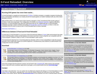 dfendreloaded.sourceforge.net screenshot