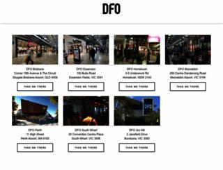 dfo.com.au screenshot