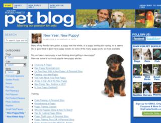 dfs-pet-blog.com screenshot