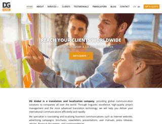 dg-global.com screenshot