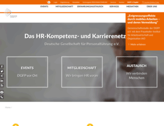 dgfp.de screenshot