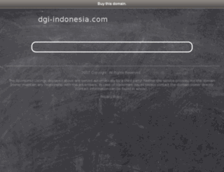 dgi-indonesia.com screenshot