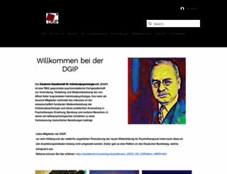 dgip.de screenshot