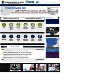 dgrchubut.gov.ar screenshot
