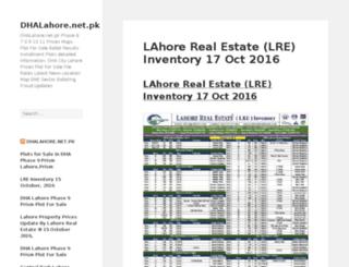 dhalahore.net.pk screenshot