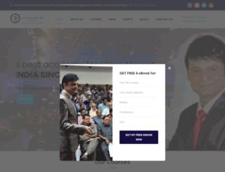 dhanashriacademy.com screenshot