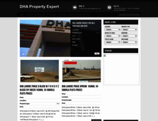 dhapropertyexpert.com screenshot