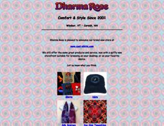 dharmarose.com screenshot