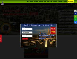 dholerametrocity.com screenshot