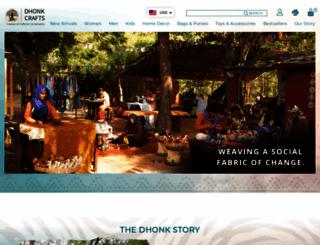 dhonk.com screenshot