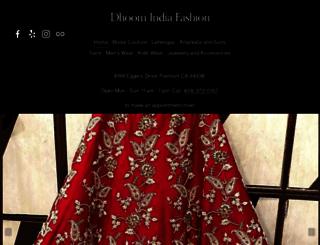dhoomindiafashion.com screenshot
