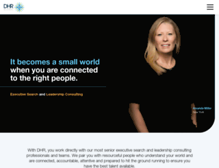dhrinternational.com screenshot