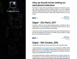 dhruvb.com screenshot
