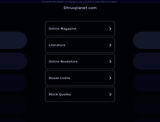 dhruvplanet.com screenshot