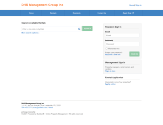 dhsmanagementgroupinc.managebuilding.com screenshot