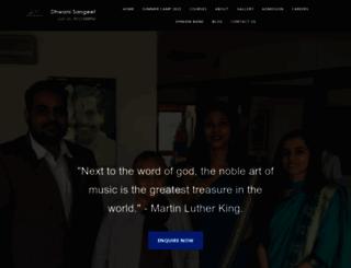 dhwanisangeet.com screenshot