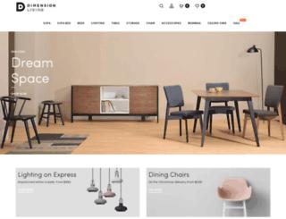 di-mension.com screenshot