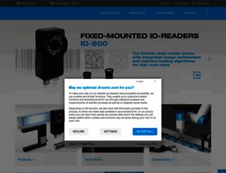 di-soric.com screenshot