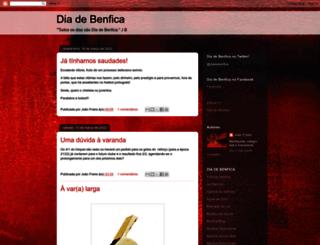 diabenfica.blogspot.pt screenshot