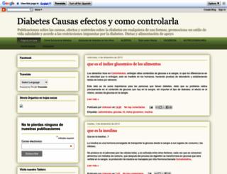 diabetes1-2.blogspot.com screenshot