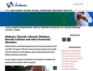 diabetesendocrinology.in screenshot