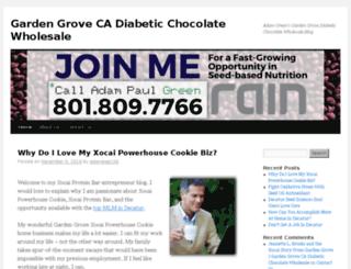 diabeticchocolatewholesale.the-adam-green.com screenshot