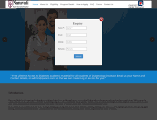 diabetologyinstitute.com screenshot