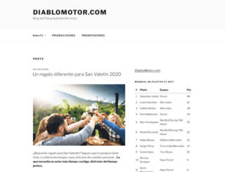 diablomotor.com screenshot