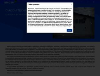 diacomsoft.com screenshot