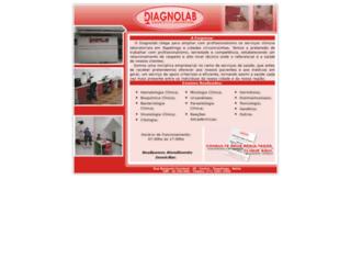 diagnolabnet.com.br screenshot