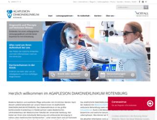 diako-online.de screenshot