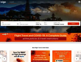 dial.ixigo.com screenshot
