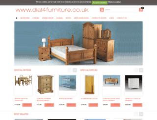 dial4furniture.co.uk screenshot