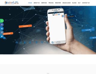 dial4sms.com screenshot