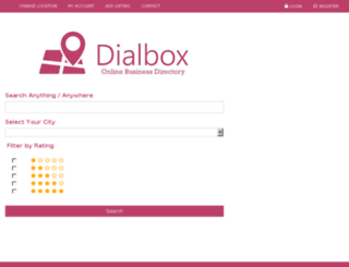 dialbox.in screenshot
