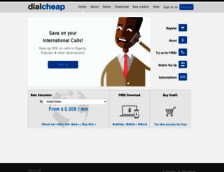 dialcheap.com screenshot
