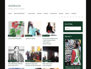 dialifestyle.wordpress.com screenshot