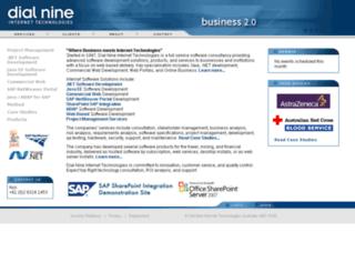 dialnine.com.au screenshot