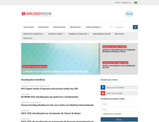 dialogoroche.com.br screenshot