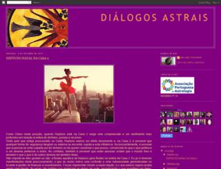dialogosastrais.blogspot.com.br screenshot