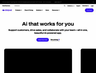 dialpad.com screenshot