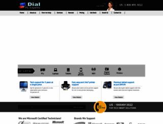 dialpcexperts.com screenshot
