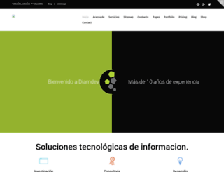 diamdev.com screenshot
